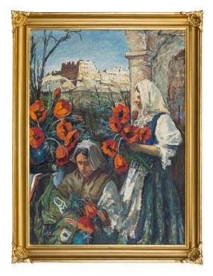 Siwecki Alojzy (1912-1988), Maki spod Monte Cassino, 1967