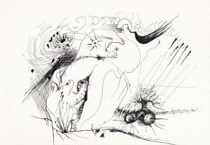 Stajuda Jerzy (1936-1992), Kompozycja erotyczna, 1974
