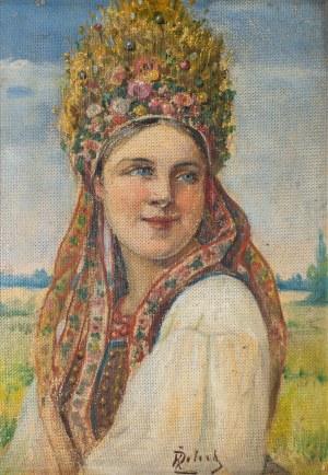 Żelechowski Kasper (1863 – 1942), Krakowianka. Panna młoda, lata 30. XX w.