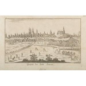 Eder J., Widok Krakowa, poł. XVIII wieku