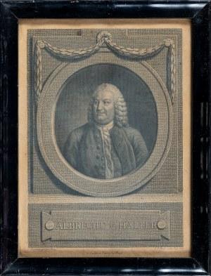 Freudenbergen S.[igmund], Portret Albrechta von Hallera (1708 – 1777), 1773