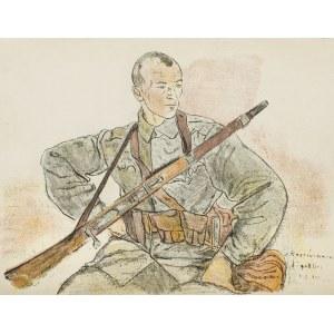 Gottlieb Leopold (1879-1934), Legionista, 1916