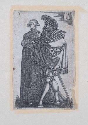 Monogramista CD, Niemcy I poł. XVI w., Para szlachecka, 1539