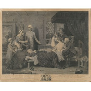 Pollard Robert (1755 – 1838), Le meme jeune homme rendu a la vie (Powrót do życia) wg. Roberta Smirk, 1787 Londyn