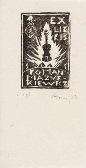 Szmaj Stefan (1893-1970), Zestaw 5 ekslibrisów, 1923