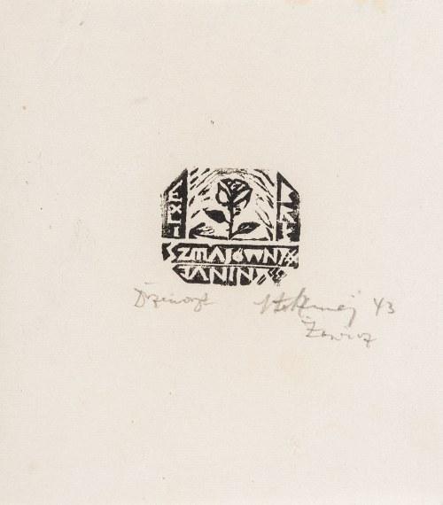 Szmaj Stefan (1893-1970), Zestaw 8 ekslibrisów, 1943