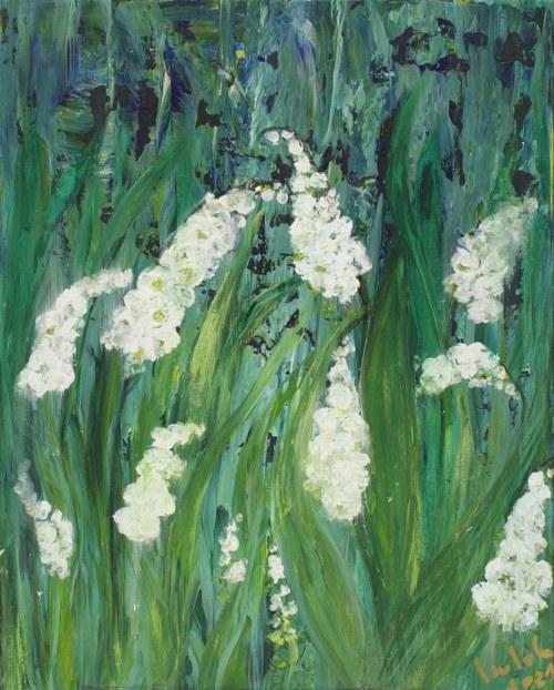 Izabela Drzewiecka, Kwiaty wiosenne, 2021