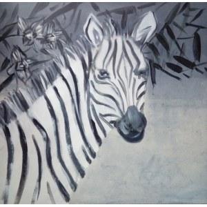 Katarzyna Kostecka, Zebra w szarościach, 2020