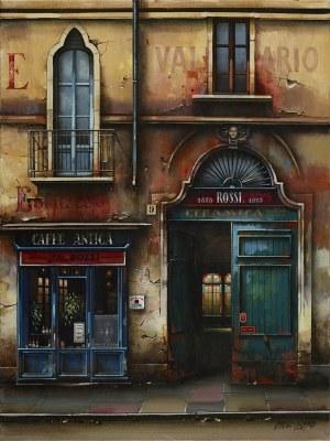 Jan Stokfisz Delarue, Cafe Antica S