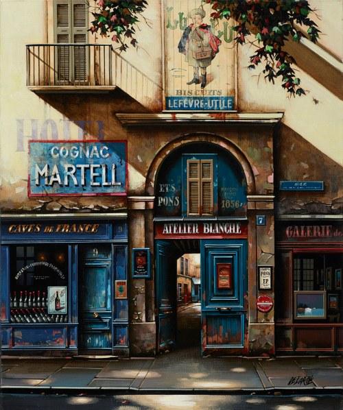 Jan Stokfisz Delarue, Cognac Martell S