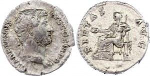 Roman Empire Denarius 134 - 138 AD