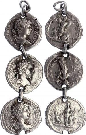 Roman Empire Denarius 150 - 250 AD