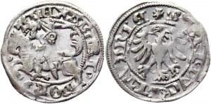 Lithuania 1/2 Groschen / Półgrosz 1492 - 1506 (ND) Alexander Jagiellon
