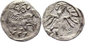 Lithuania Denar 1557 Sigismund II Augustus