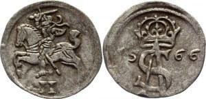 Lithuania 2 Denari 1566 Sigismund II Augustus
