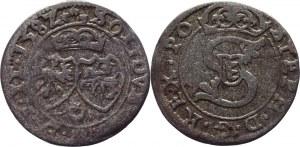 Lithuania Solidus / Szeląg 1582 Sigismund II Augustus