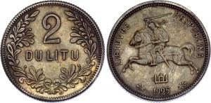 Lithuania 2 Litu 1925