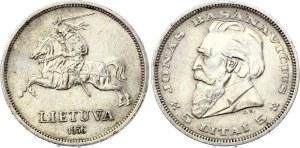 Lithuania 5 Litai 1936