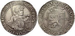 Netherlands West Friesland Nederlandse Rijksdaalder 1621