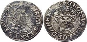 Poland Grosz 1556 R4 Sigismund II August