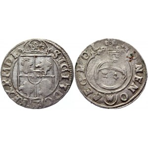 Poland 3 Polker / Półtorak 1615 Sigismund III Vasa