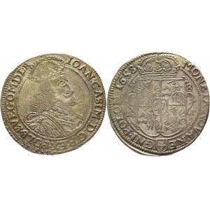 Poland Tympf / 18 Groszy 1658 R John II Casimir