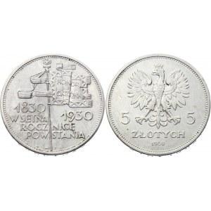 Poland 5 Zlotych 1930