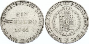 German States Hessen-Kassel Thaler 1841
