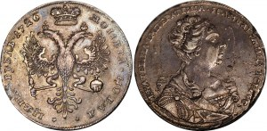 Russia 1 Rouble 1726
