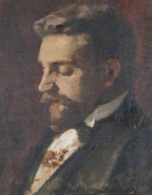 PORTRET BRODATEGO MĘŻCZYZNY, ok. 1900
