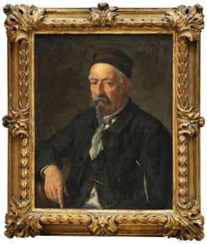 PORTRET MĘŻCZYZNY, poł. XIX w.