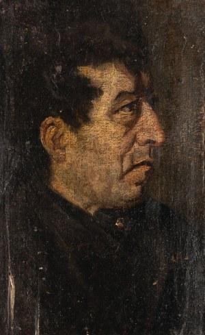 PORTRET MĘSKI, 2 poł. XIX w.