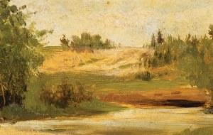 PEJZAŻ, ok. 1900