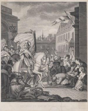 WJAZD HENRYKA IV DO PARYŻA w 1594 r., 1 poł. XIX w.