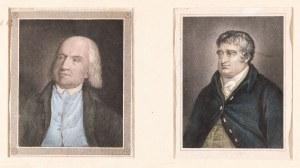 DWA PORTRETY: JOHN BENTHAM i C.J.FOX, XIX w.