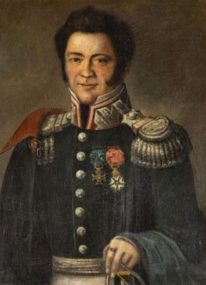 PORTRET GENERAŁA WOJCIECHA DOBIECKIEGO, k. XIX w.