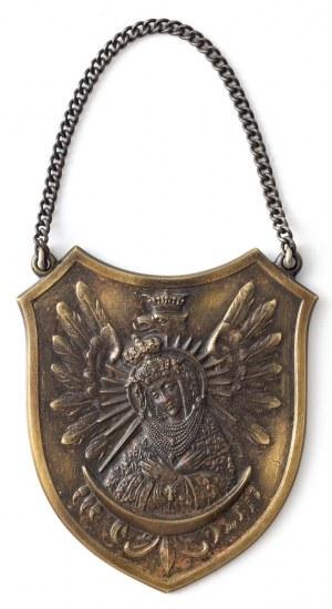 RYNGRAF Z MATKĄ BOŻĄ OSTROBRAMSKĄ NA ORLE, Polska, Warszawa, Wiktor Gontarczyk, ok. 1930