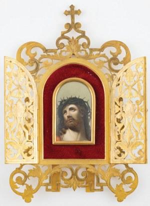 CHRYSTUS W KORONIE CIERNIOWEJ, 1875