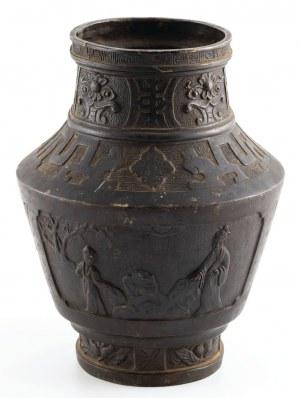 WAZA ZE SCENAMI FIGURALNYMI, Chiny, XIX w.