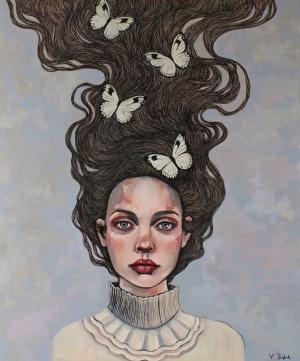 Viola Bąbol, Muza o ulotnym pięknie, 2016