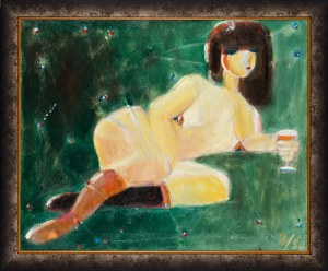 Jerzy Świątkowski, Kobieta z kieliszkiem