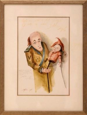 Daniel de Tramecourt, Mężczyzna z kukiełką, 1986