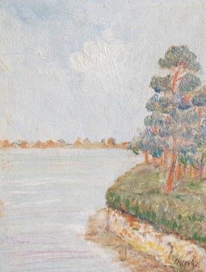 Wilhelm Wilk Ossecki, Klif nad jeziorem