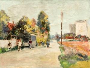 Edward WIECZOREK(1901-1988), Pejzaż miejski