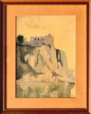 Mieczysław SERWIN-ORACKI(1912 - 1977), Ruiny zamku