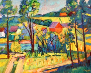 Marek NIEDOJADŁO(ur. 1954), Pejzaż, 2004