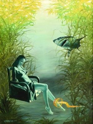 Mariusz ZDYBAŁ(ur. 1955), W morskiej głębi, 2005
