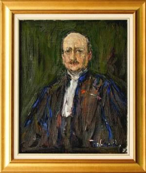 Włodzimierz TERLIKOWSKI(1873-1951), Portret adwokata