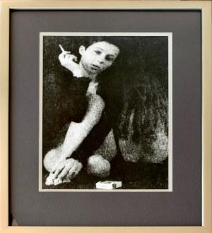 Andrzej TYLKO (ur. 1969), Kobieta z papierosem z cyklu Tylko kobiety, 2005