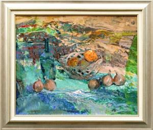 Wacław ONAK(ur. 1958), Martwa natura z cebulami, 2008